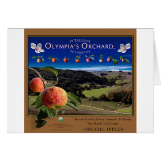 Olympia's Orchard Card