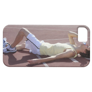 Olympic 2012 Athlete drinking after race iPhone 5 Cases
