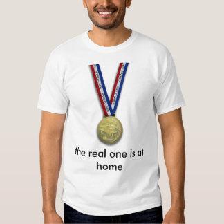 Olympic medallion, Champion of Life Tshirts