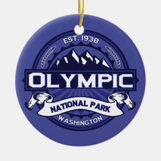 Olympic Midnight Ceramic Ornament