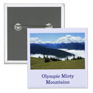 Olympic Misty Mountains Button
