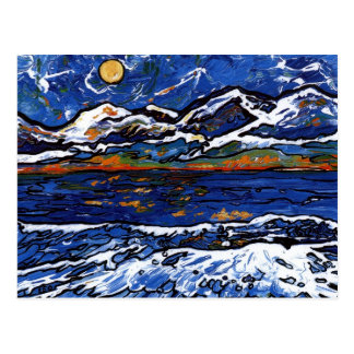 Olympic Mountains Postcard