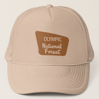 Olympic National Forest (Sign) Trucker Hat
