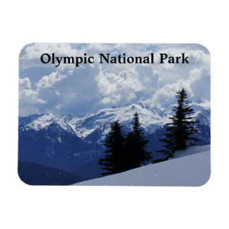 """Olympic National Park 3""""x4"""" Magnet"""