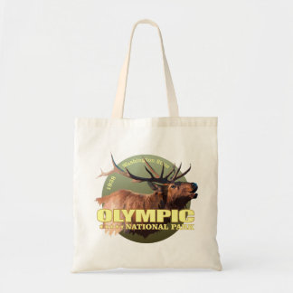 Olympic National Park (Elk) WT Tote Bag