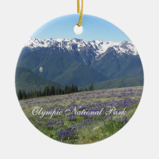 Olympic National Park Photo Ornament
