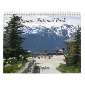 Olympic National Park Photo Wall Calendars