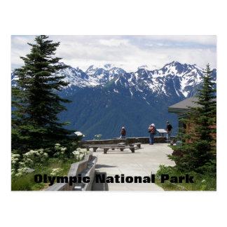Olympic National Park Travel Postcard