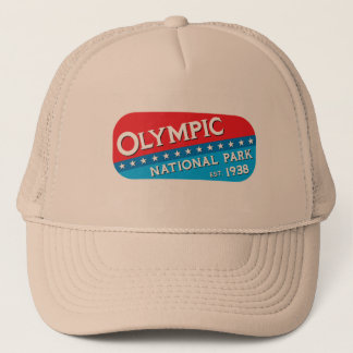 Olympic National Park Trucker Hat