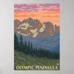 Olympic Peninsula, WashingtonSpring Flowers Print