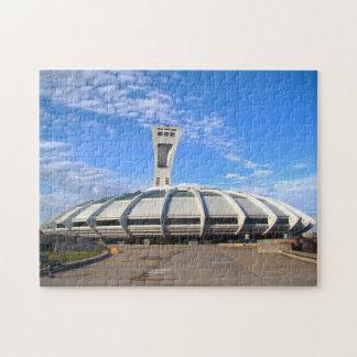 Olympic Stadium Montreal. Jigsaw Puzzle