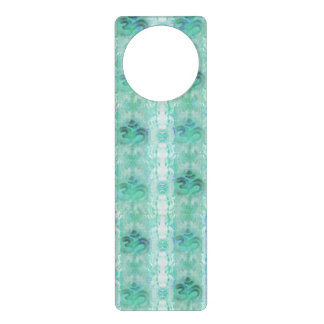 om aum pattern Door Hanger