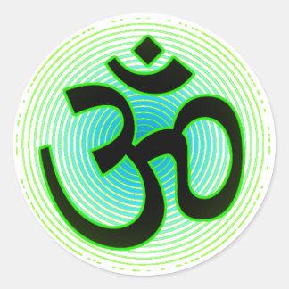Om (aum) sticker symbol