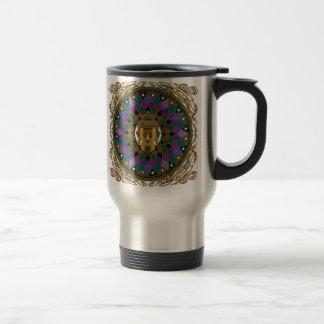 Om Buddha Mandala Travel Mug