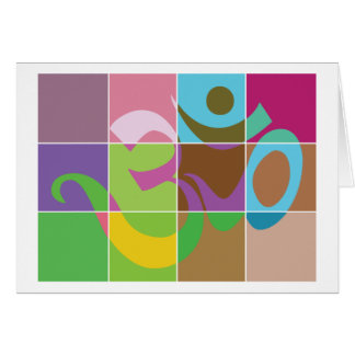 OM Gift Greeting Card