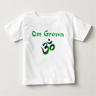 Om Grown Green Baby Tee