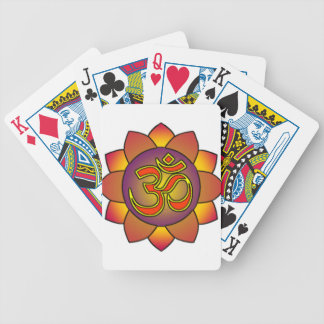 Om_in_anahatta_(gradients) Bicycle Playing Cards
