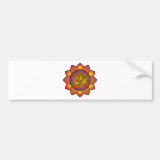 Om_in_anahatta_(gradients) Bumper Sticker
