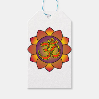 Om_in_anahatta_(gradients) Gift Tags