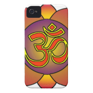 Om_in_anahatta_(gradients) iPhone 4 Cases