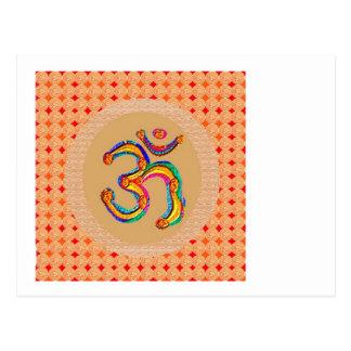 OM Mantra 108  - Chant Value is = 56x365x108 x9 Postcard