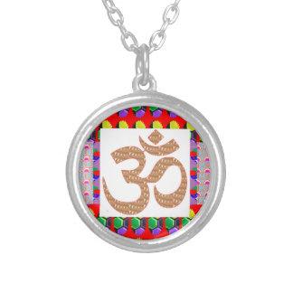 OM Mantra Gold INTENSE Devotion NVN189 NavinJOSHI Pendant