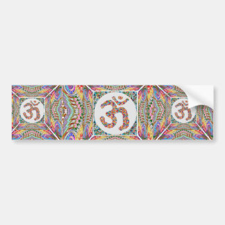 Om Mantra Jewel Collection Bumper Sticker