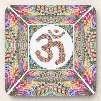 Om Mantra Jewel Collection Coaster