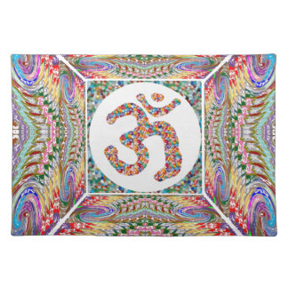 Om Mantra Jewel Collection Placemat