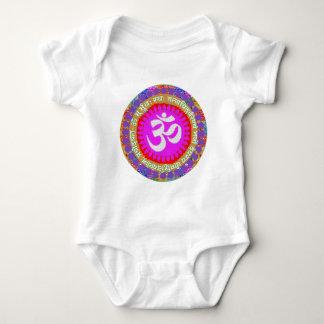 OM MANTRA OmMantra Hinduism Religion Yoga Indian Baby Bodysuit