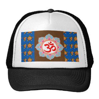OM Mantra OMmantra on Pocket Hinduism Yoga Teacher Hats