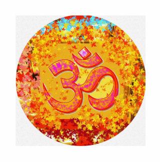 OM Mantra -  Pefect Feng Shui Aura Cleaner Photo Sculpture Badge