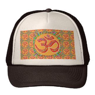 OM MANTRA Symbol : TRUE HOLY ROBE Color Trucker Hat