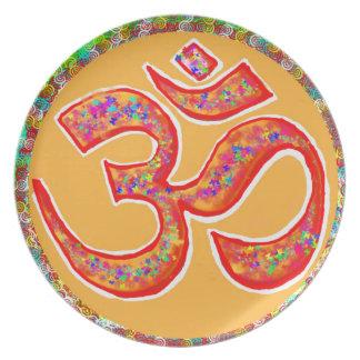 OM MANTRA Symbol : TRUE HOLY ROBE Color Plate