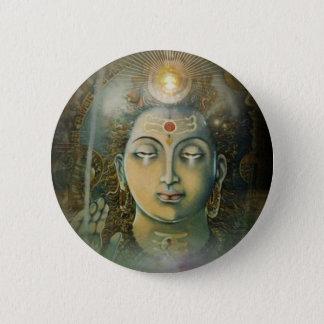 Om Namah Shivay 6 Cm Round Badge