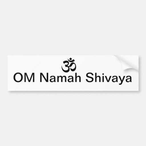 OM Namah Shivaya Bumper Stickers