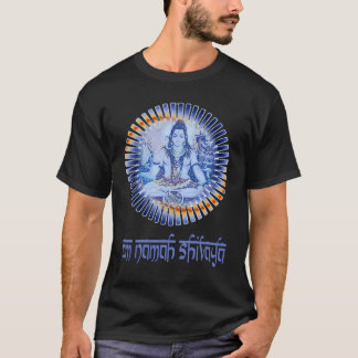 Om Namah Shivaya (light lettering) T-Shirt