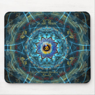 """Om Namah Shivaya""- The True Identity- Yourself Mouse Pad"