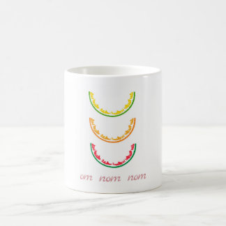 Om nom nom coffee mug