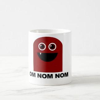 Om Nom Nom Cutie Basic White Mug
