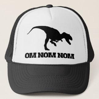 Om Nom Nom Dino Trucker Hat
