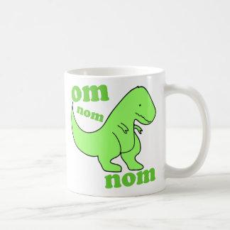 om nom nom dinosaur chompss mug