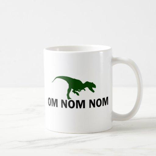 Om Nom Nom Dinosaur Rawr is Hungry Mug