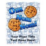 Om Nom Nom, Meme Love Cookies Full Color Flyer