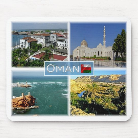 OM  Oman - Mouse Pad