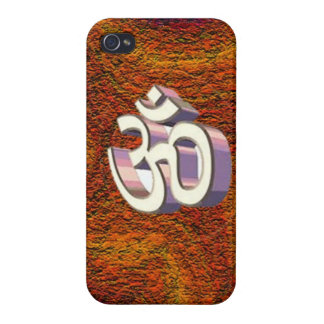 Om, omh Hindu Religious Sign of Peace chant Case For The iPhone 4