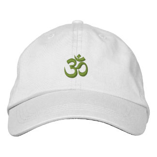 Om Omkara Symbol Embroidered Baseball Caps