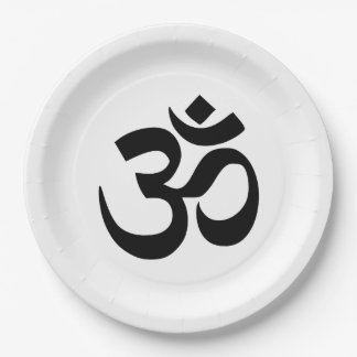 OM Paper Plate 9 Inch.