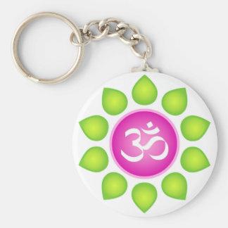 Om Power Key Ring