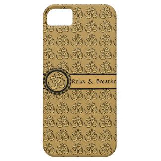 Om Relax & Breathe Gold Case
